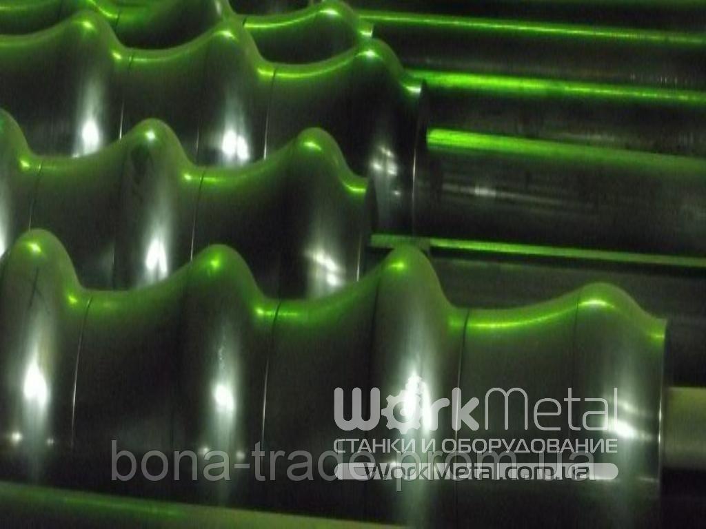 Линия для производства металлочерепицы - ООО «Компания БОНА ТРЕЙД». Системы ограждений, кровельные и фасадные материалы в Днепре