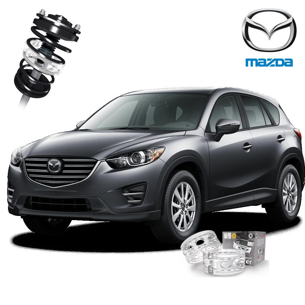 Автобаферы ТТС для Mazda CX-5 (2 штуки)