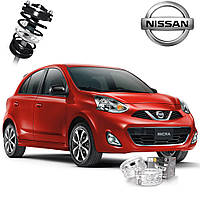 Автобаферы ТТС для Nissan Micra (2 штуки)