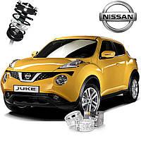 Автобаферы ТТС для Nissan Juke (2 штуки)