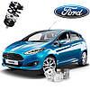 Автобаферы ТТС для Ford Fiesta (2 штуки)