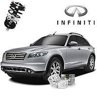 Автобаферы ТТС для Infiniti FX 37 (2 штуки)