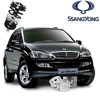 Автобаферы ТТС для SsangYong Kyron (2 штуки)