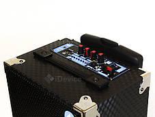 Акустика Atlanfa AT-Q6 + радиомикрофон, USB, Bluetooth, фото 2