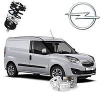 Автобаферы ТТС для Opel Combo (2 штуки)
