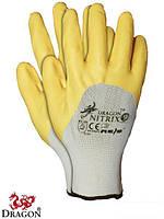 """Нейлоновые перчатки Nitrix с нанесением нитрила (9"""",10""""размеры)"""