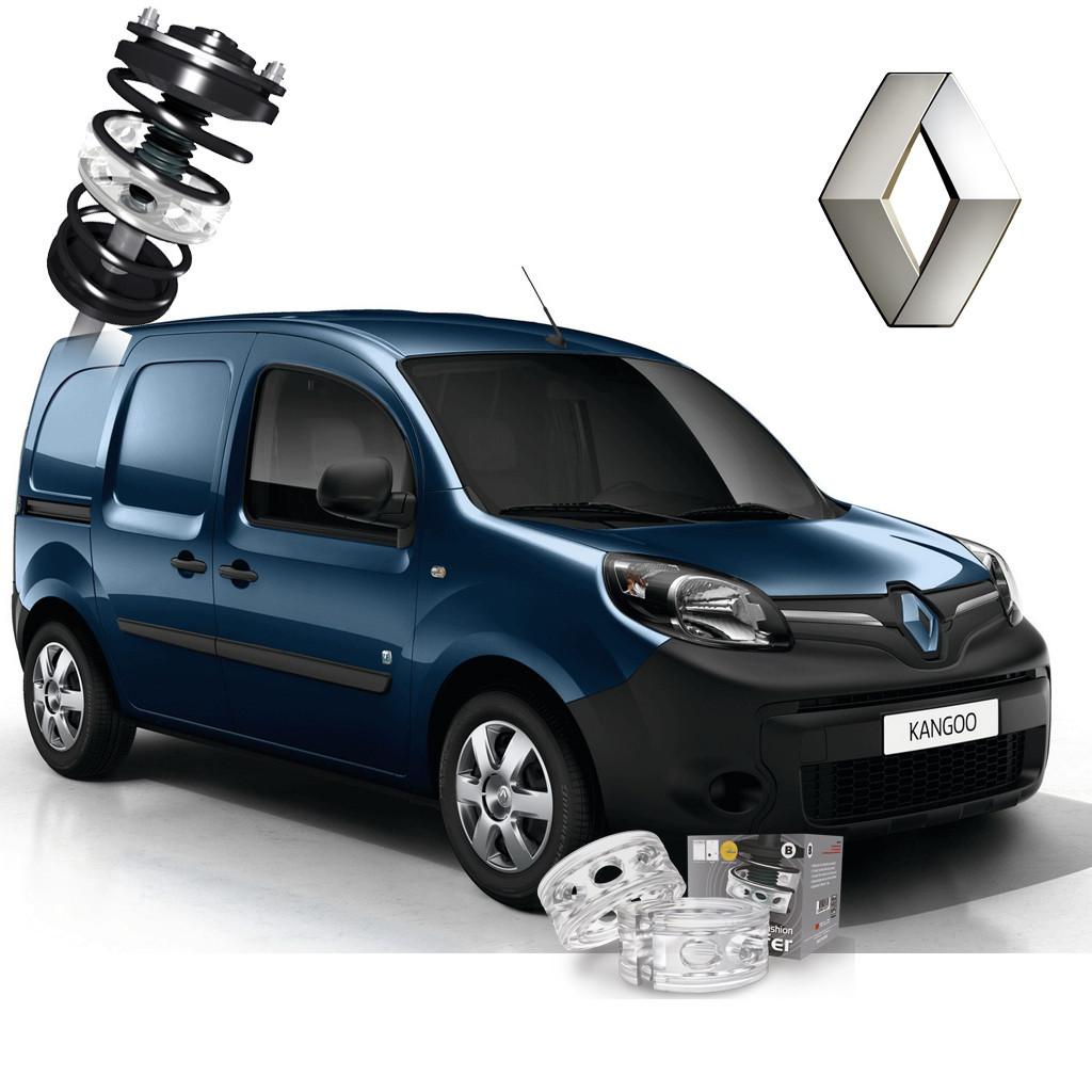 Автобаферы ТТС для Renault Kangoo (2 штуки)