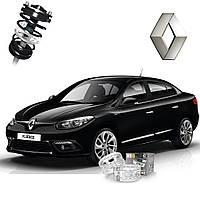 Автобаферы ТТС для Renault Fluence (2 штуки)