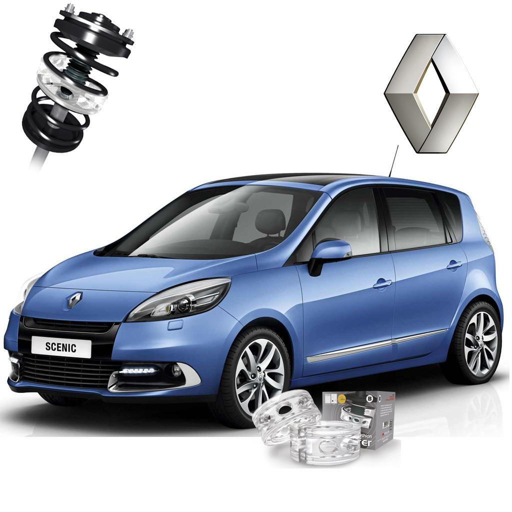Автобаферы ТТС для Renault Scenic (2 штуки)