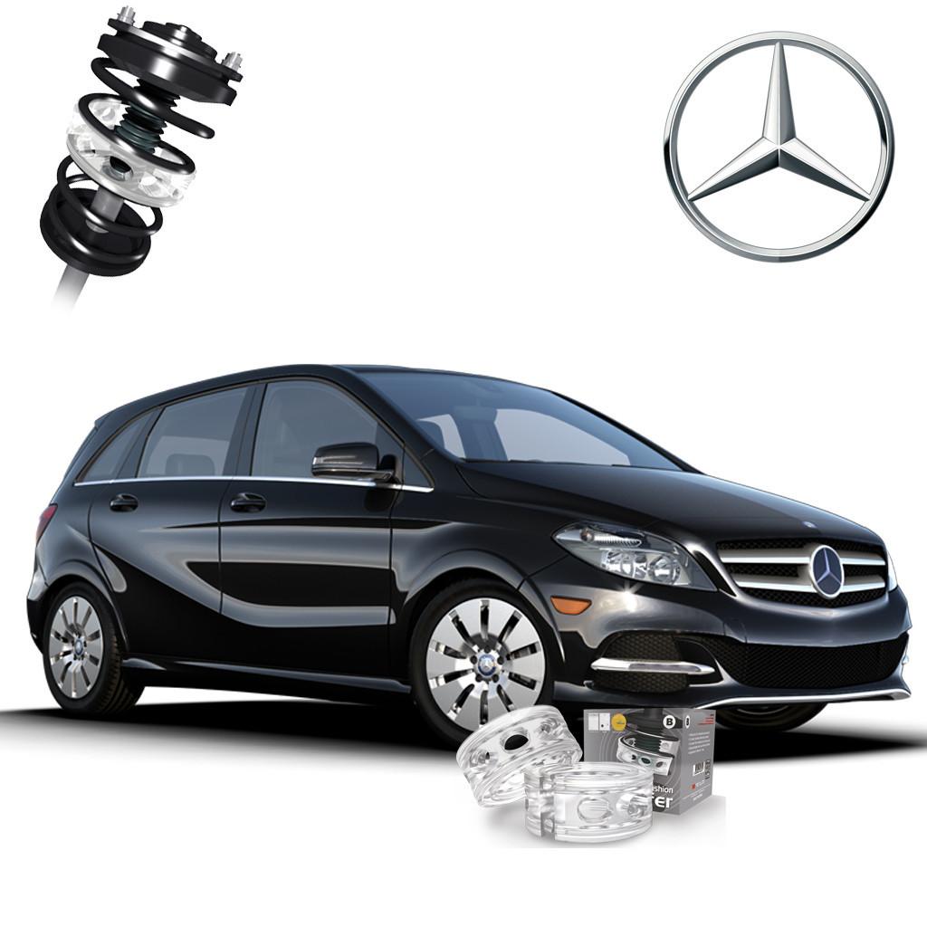 Автобаферы ТТС для Mercedes-Benz В 200-250 (2 штуки)