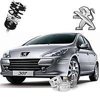 Автобаферы ТТС для Peugeot 307 (2 штуки)