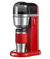 Персональная кофеварка красная KitchenAid