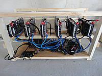 Майнинг ферма на 6 видеокарт GTX1060 3GB INNO3D HERCULEZ TWIN X2