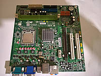 Материнская плата MSI/ACER  +E5200  S775/QUAD