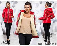 Стильная зимняя удлиненная стеганная куртка новинка Balani (44,46,48,50)