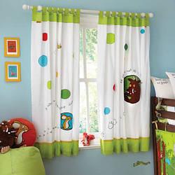 Как на дому сшить хлопковые шторы в детскую комнату