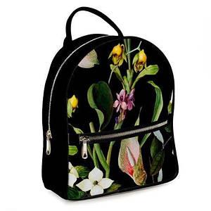 Городской рюкзак с принтом Цветы