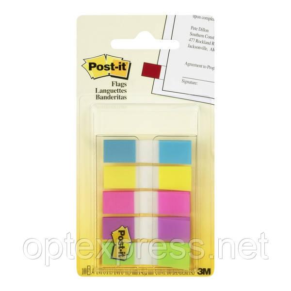 3М Post-It клейкие универсальные узкие закладки 683-5