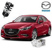 Автобаферы ТТС для Mazda 3 (2 штуки)