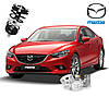 Автобаферы ТТС для Mazda 6 (2 штуки)