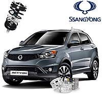 Автобаферы ТТС для SsangYong Actyon (2 штуки)