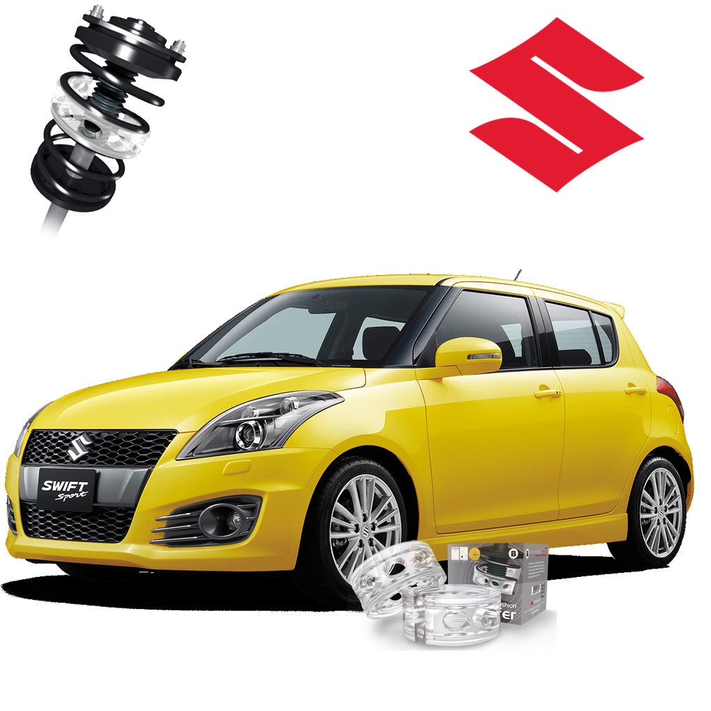 Автобаферы ТТС для Suzuki Swift (2 штуки)