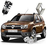 Автобаферы ТТС для Renault Duster (2 штуки)