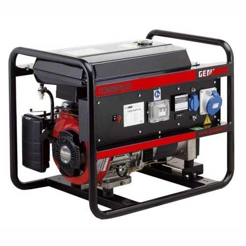 Бензиновый генератор однофазный с электростартером GENMAC 5200RECEPR