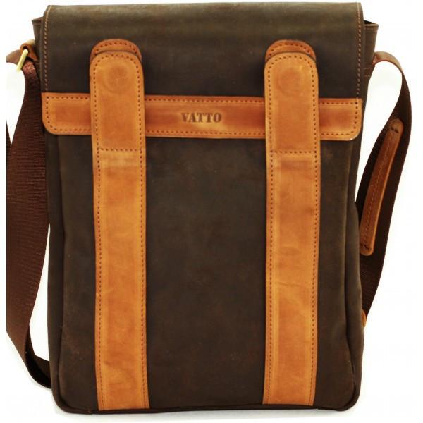 Мужская сумка из кожи VATTO MK28.3 KR450.190, коричневый