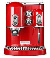 Кофемашина  красная Artisan Kitchenaid