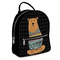 Городской рюкзак с принтом Медведь