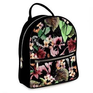 Городской рюкзак с принтом Цветочная фантазия