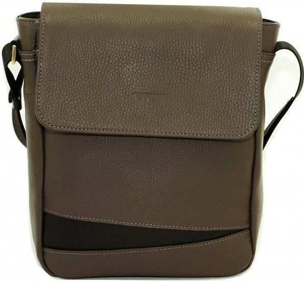 Мужская сумка из кожи VATTO MK28.1 F13KAZ1, темно-серый