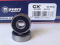 Подшипник CX 607 2RS (7x19x6) однорядный, фото 1