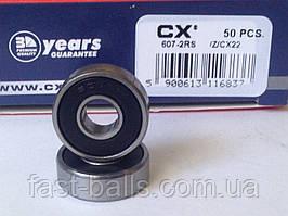 Подшипник CX 607 2RS (7x19x6) однорядный