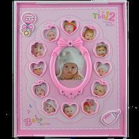 Детский фотоальбом 12 месяцев