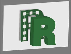 Объемные буквы с внутренней подсветкой