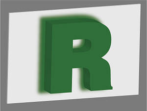 Об'єднання роз'ємні літери з контражурним підсвічуванням