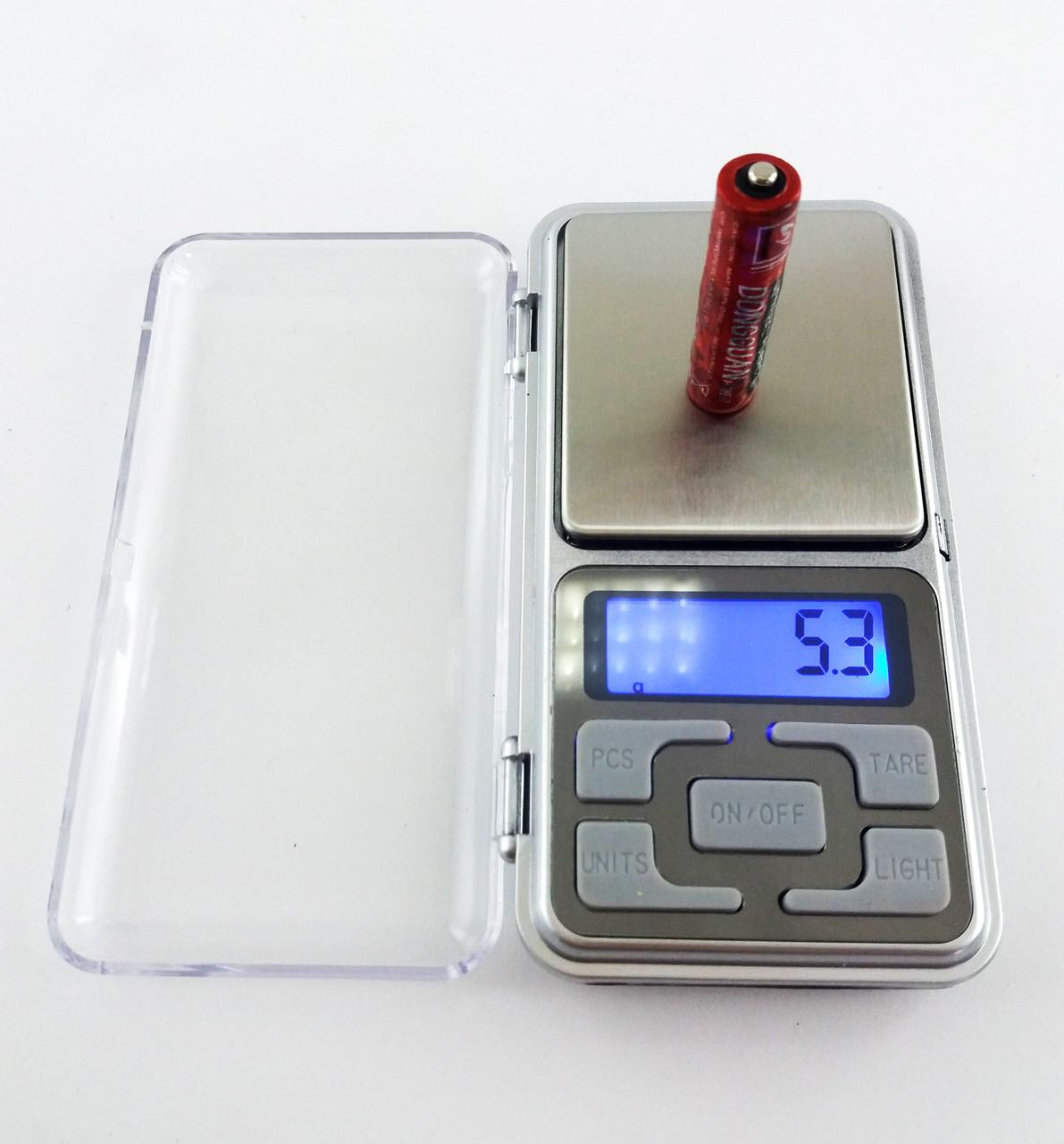Карманные ювелирные весы POCKET SCALE 500gr/0.1g