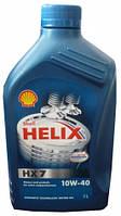 Масло моторн. SHELL Helix Diesel HX7 SAE 10W-40 CF (Канистра 1л)