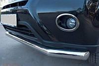 Защита переднего бампера Nissan X-Trail T31 2007-2014 (одинарный ус) d 60