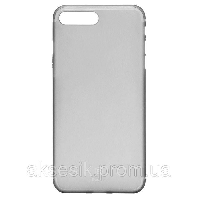 Силииконовый чехол Baseus Slim case (PC) iPhone 7 Plus (white)