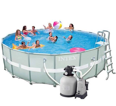 Каркасный бассейн Intex 28337. Ultra Frame Pool - 549 х 132 см