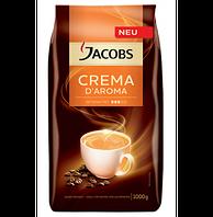 Кофе в зернах Jacobs Crema D`aroma 1кг