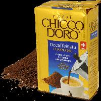Кофе Chicco d'Oro Decaffeinato Cuor d'Oro 250 гр молотый без кофеина