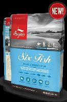 Ориджен Cat 6 Fresh FISH 5,4 кг - корм для кошек всех возрастов и пород.