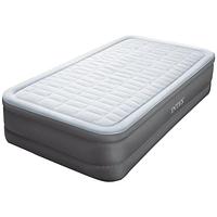 Односпальная надувная флокированная кровать Intex 64482