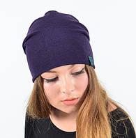 Молодежная трикотажная шапка-чулок
