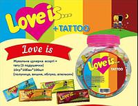 Жевательная конфета Love is Мини 100 шт. в банке