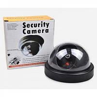 Муляж камеры видеонаблюдения, DUMMY BALL, Муляж купольной камеры с датчиком движения, Видеокамера обманка